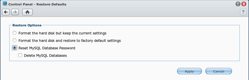 synology_how_to_reset_mysql_password